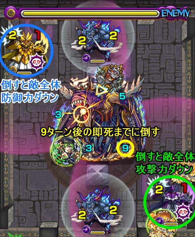覇者の塔40階4ステージ