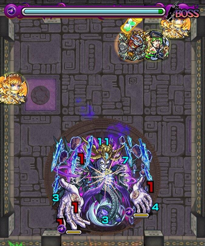 覇者の塔40階ボス2