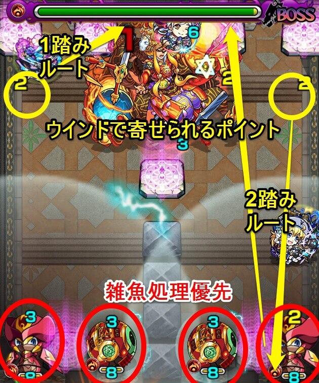 覇者の塔31階ステージ7