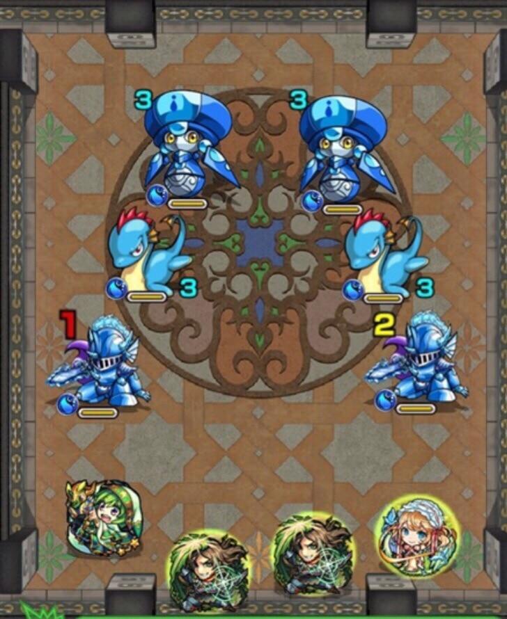覇者塔22-1F