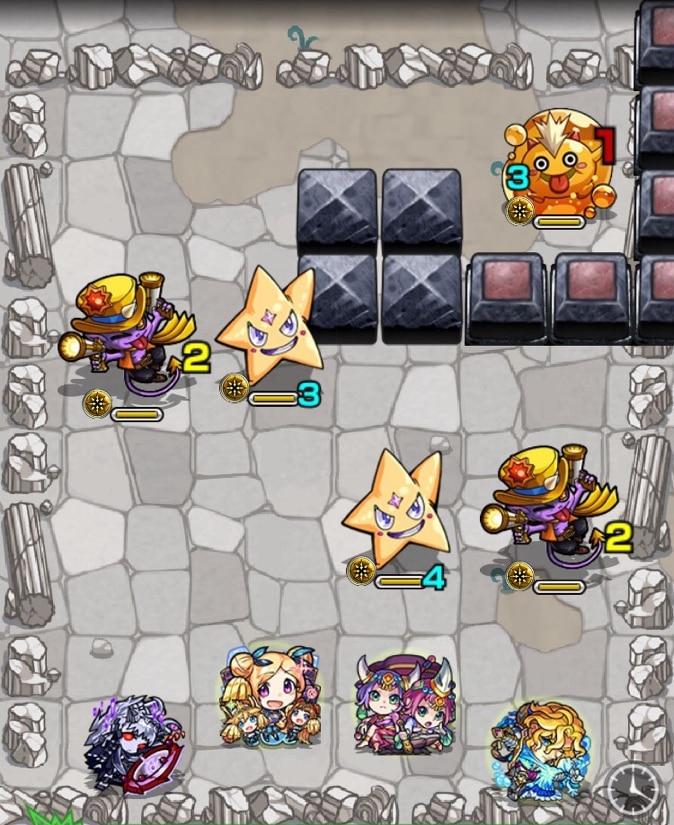 荒獅子丸(究極)第1ステージ