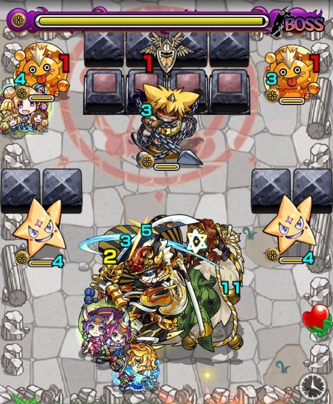 荒獅子丸(究極)ボス第3ステージ
