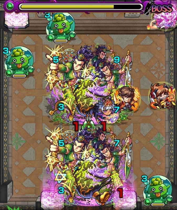 覇者の塔33階ボス3