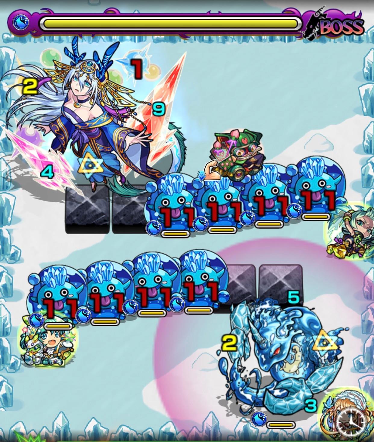 九龍貴人(究極)ボス第3ステージ