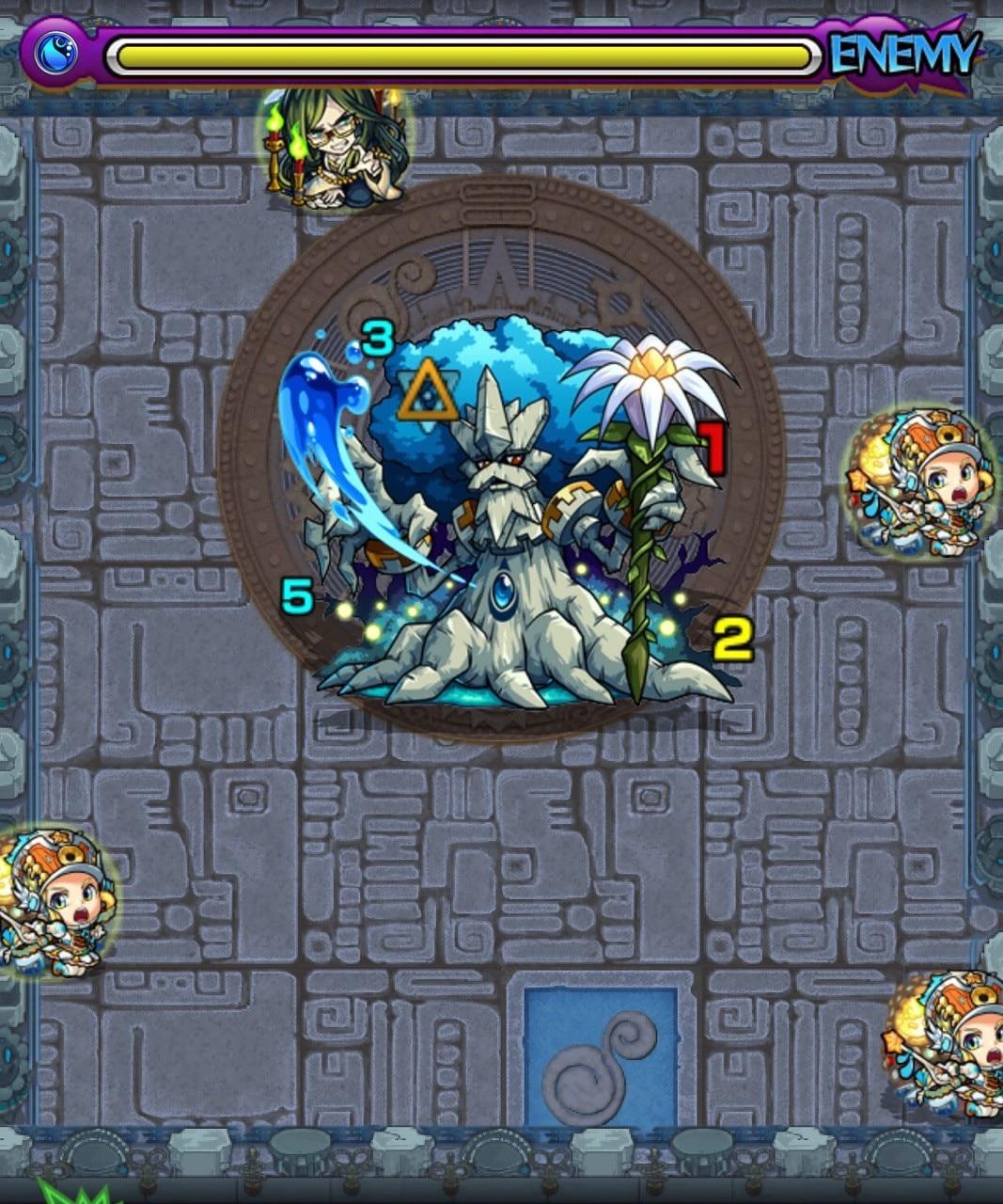 秘泉の神殿(修羅場)第2ステージ(ボーナスステージ)