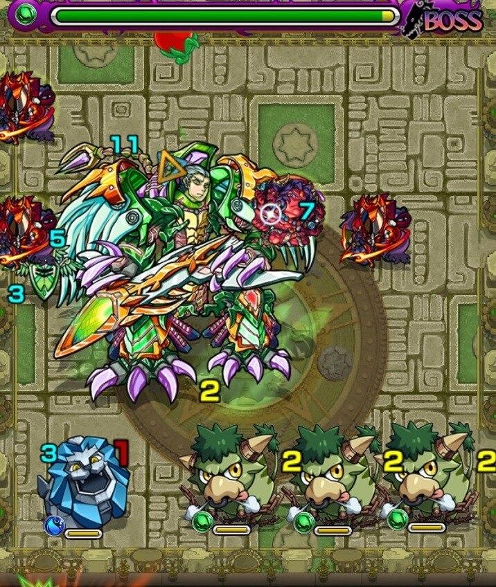 樹縛の神殿(時の間)ボス第3ステージ