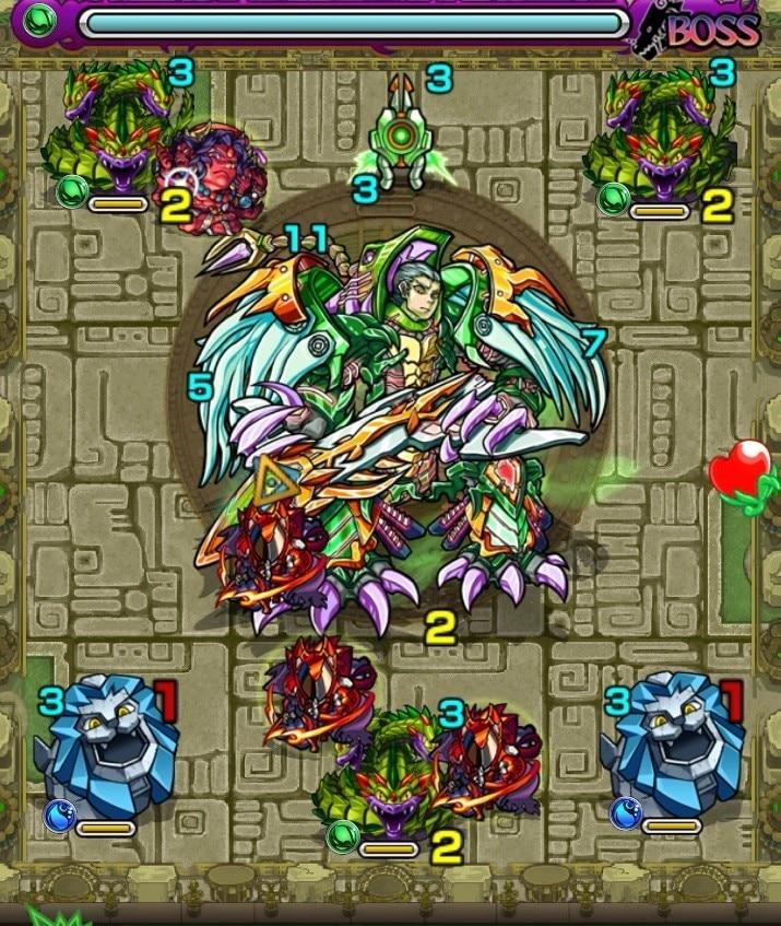 樹縛の神殿(時の間)ボス第2ステージ