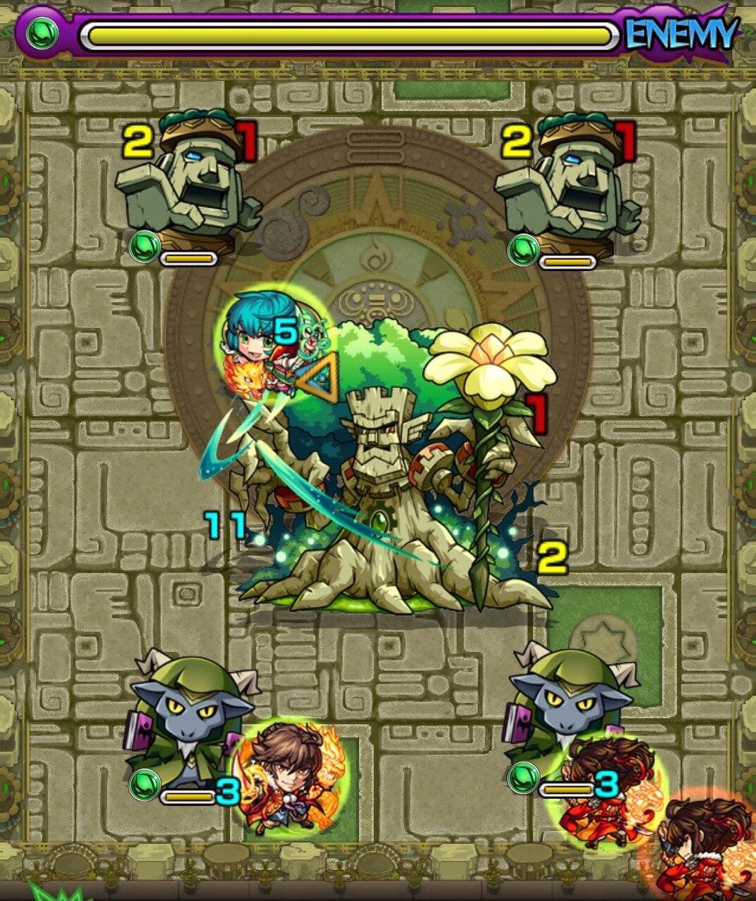 樹縛の神殿(時の間)EXステージ