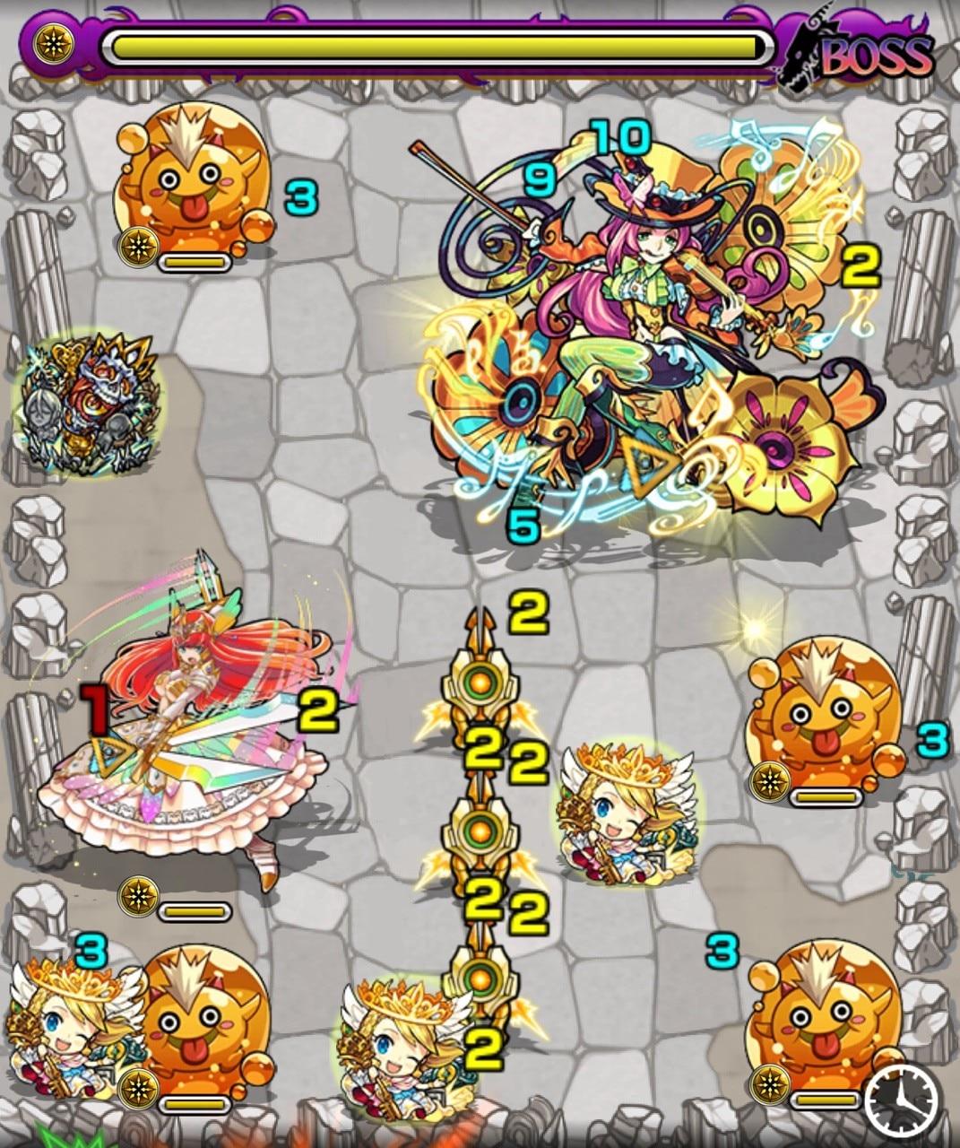 カヴァレッタ(究極)ボス第3ステージ