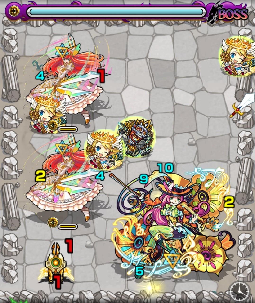 カヴァレッタ(究極)ボス第1ステージ