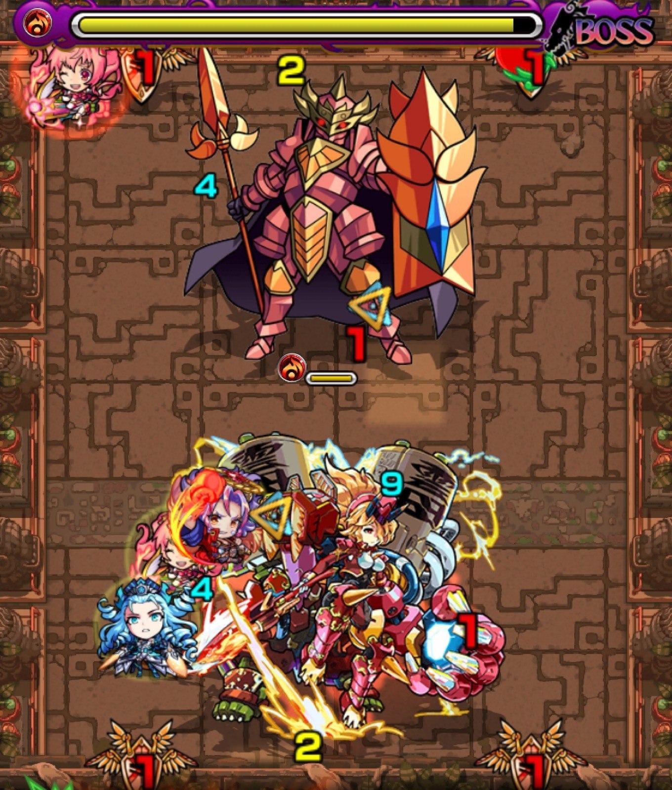 獄炎の神殿(火時2)ボス第4ステージ