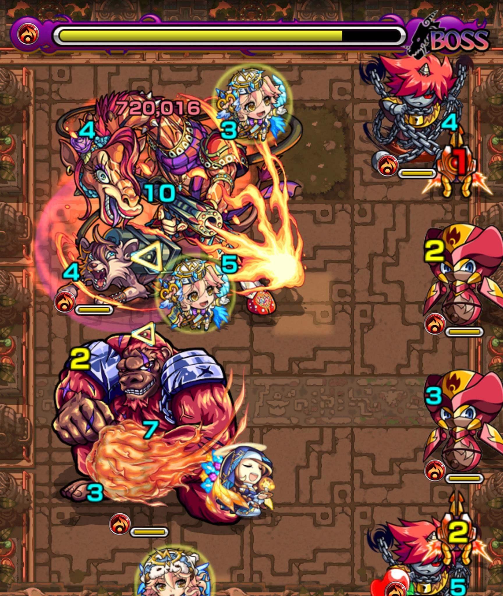 獄炎の神殿(修羅場2)ボス3