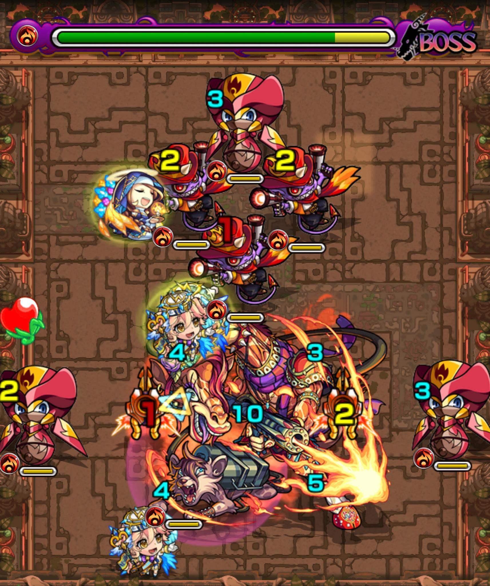獄炎の神殿(修羅場2)ボス2