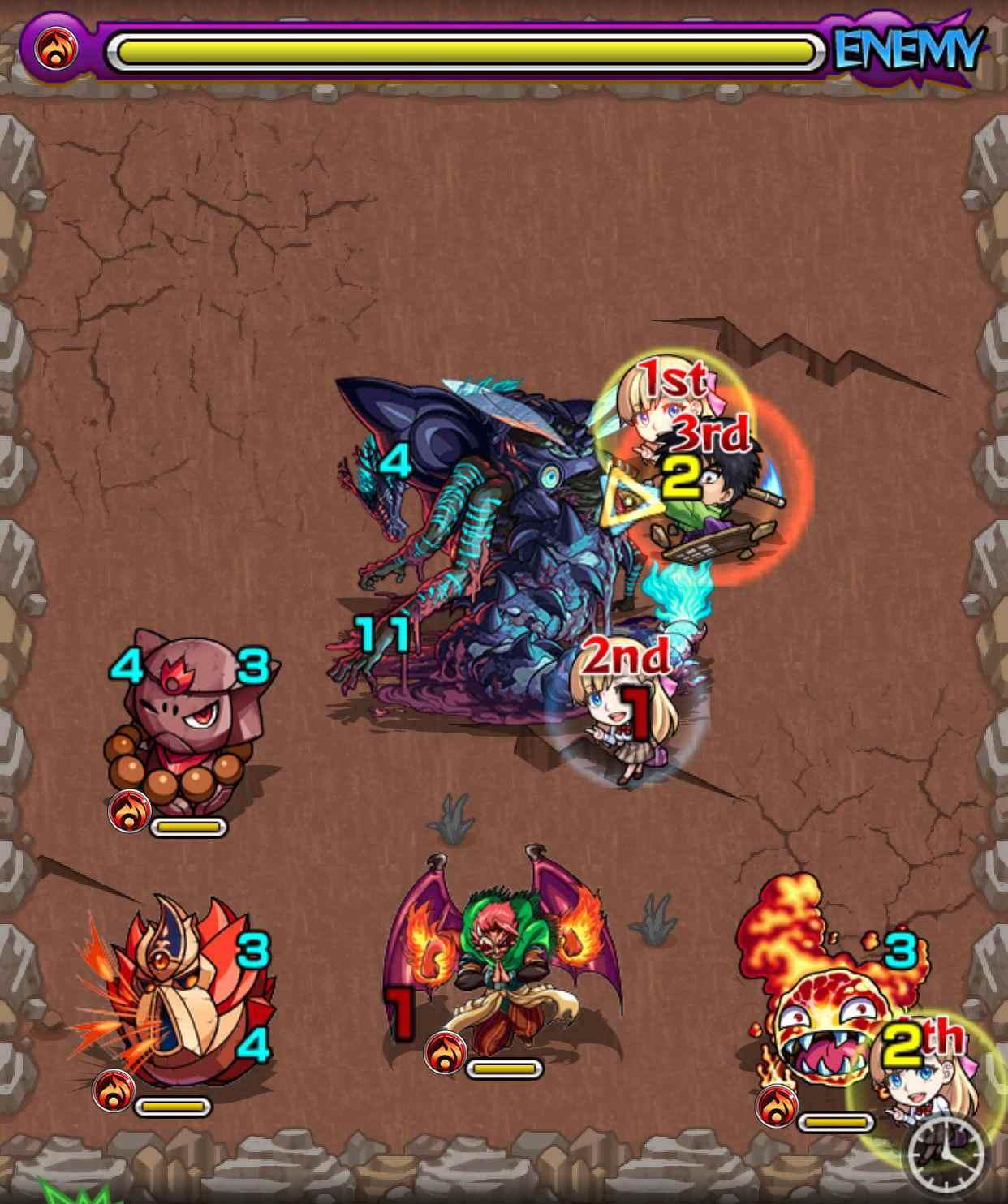 ベイドン山の怪物(究極)第2ステージ