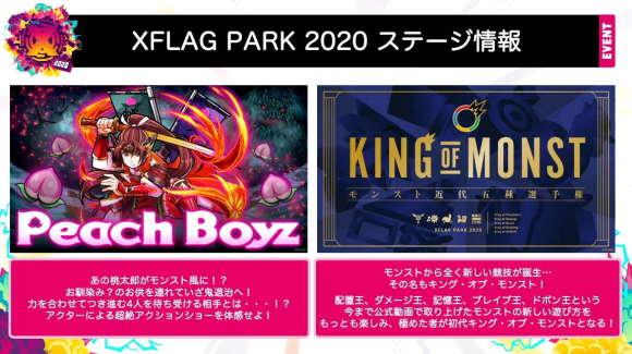 XFLAG PARK2020の追加情報