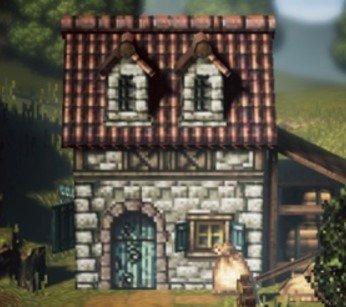 ナッツ農家の家