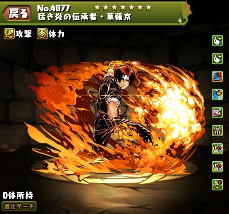 猛き炎の伝承者・草薙京