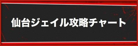 仙台ジェイルの攻略チャート