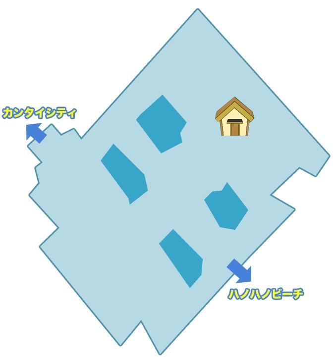 ハノハノリゾートノマップ