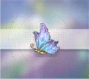 蝴蝶のブローチ
