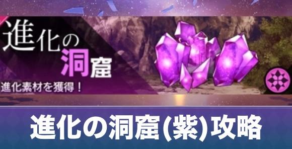 進化の洞窟(紫)周回おすすめ編成と攻略のコツ