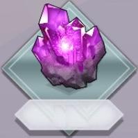 紫進化素材原石
