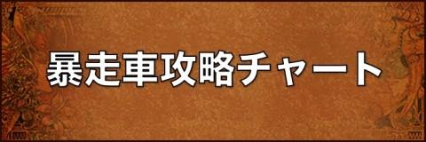 教授イベント2!暴走車攻略チャート