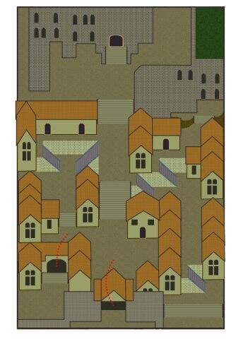 ロアーヌ市街