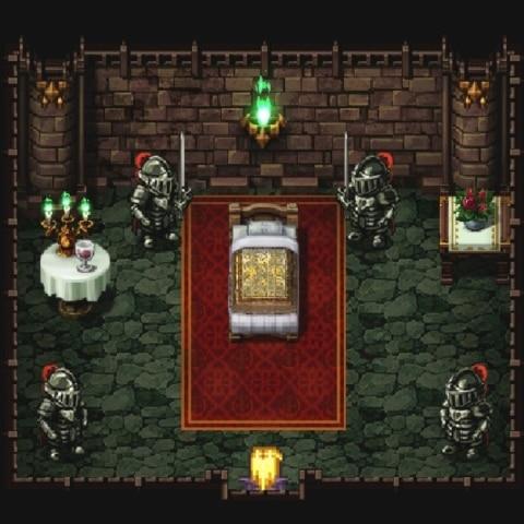 レオニード城の小部屋