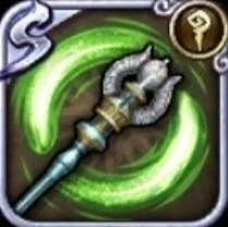 (風)霊銀の杖