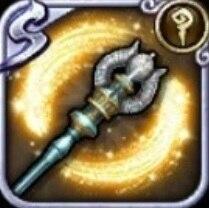 (光)霊銀の杖