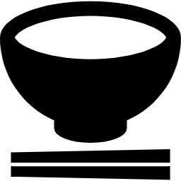 お茶碗と箸