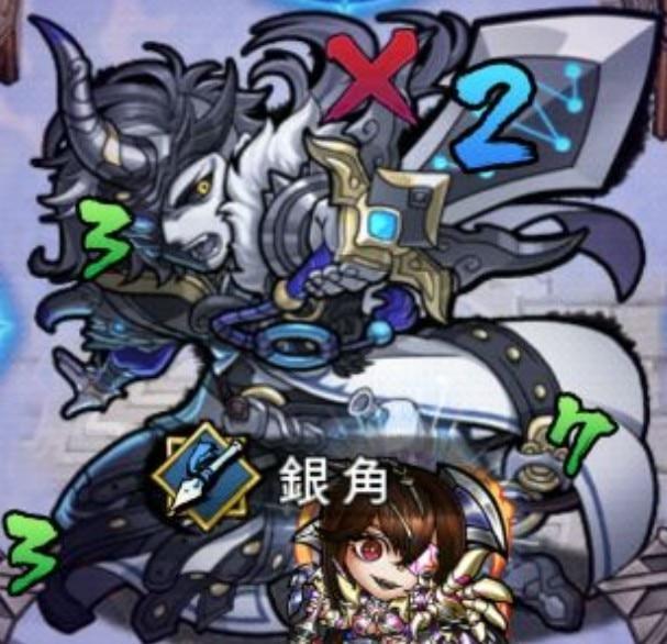 銀角攻撃パターン