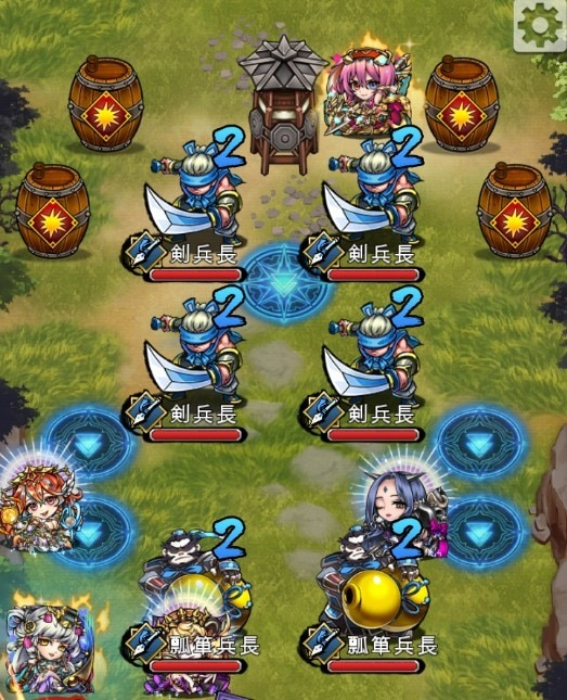 戦神の森(槍)ステージ3