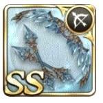 氷散華の弓の