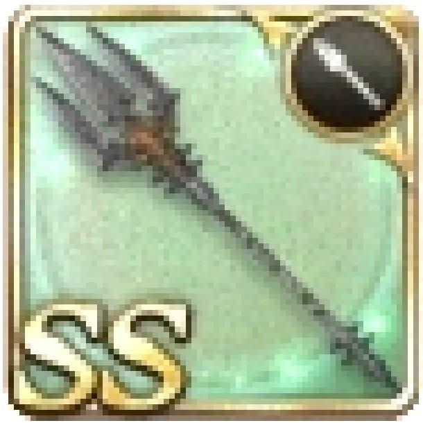 狩人の三叉槍