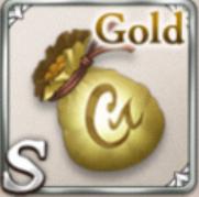 金のズタ袋
