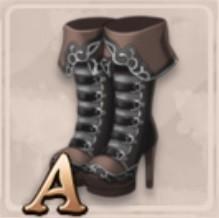 黒石のブーツ