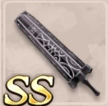黒石の大剣