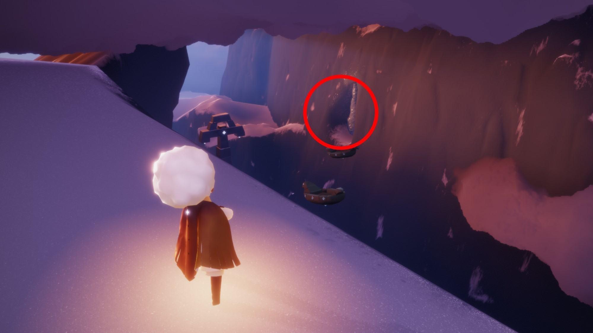 隠者の峠の光の翼1
