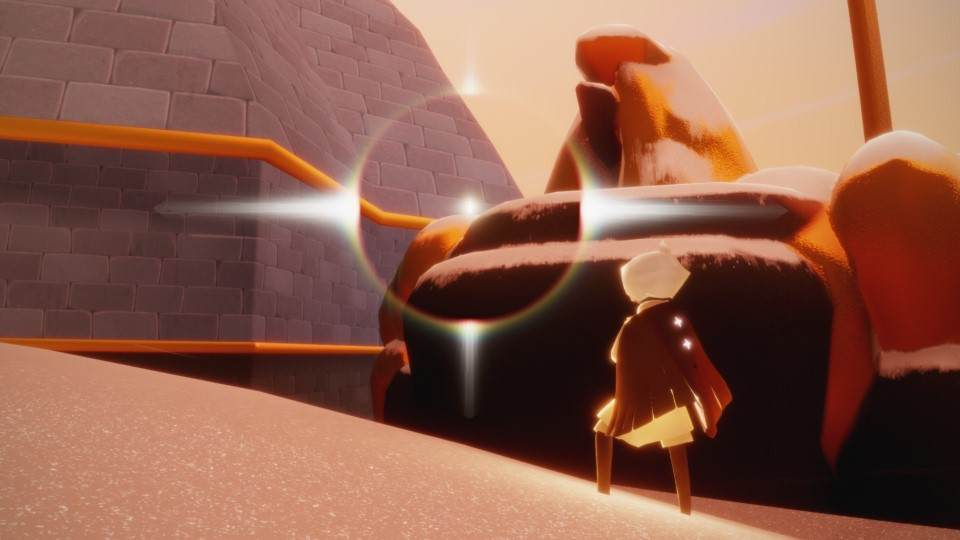峡谷の光の翼6