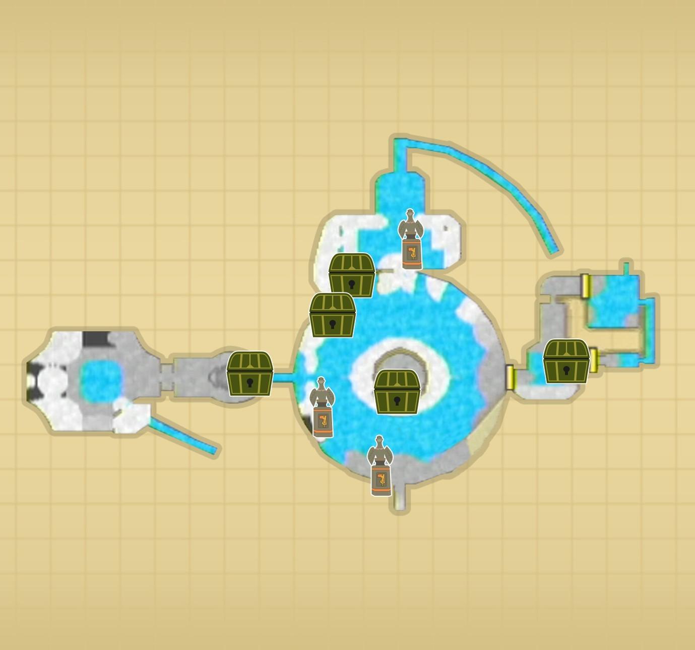 古の大石窟F1マップ