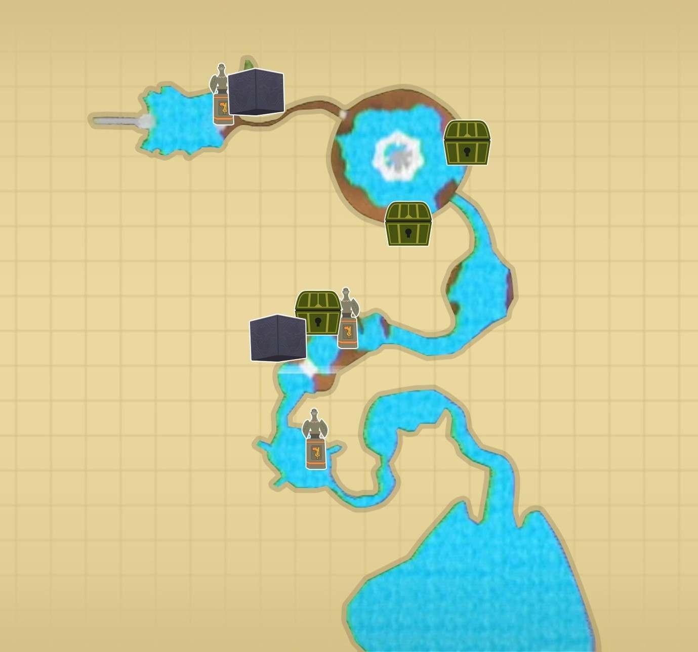 フロリア湖マップ