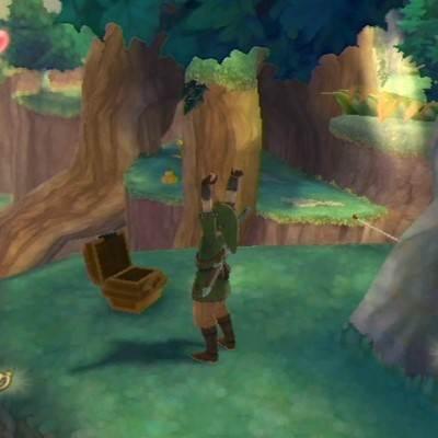 森の奥宝箱1