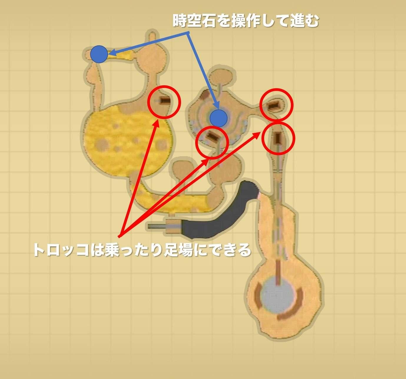 ラネール鉱山チャートマップ