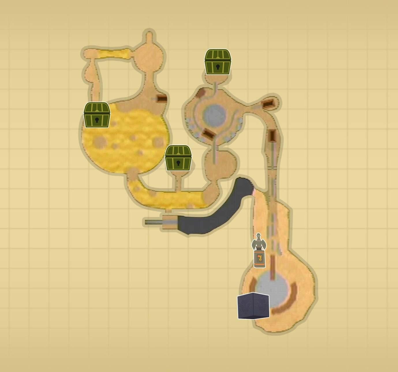 ラネール鉱山マップ
