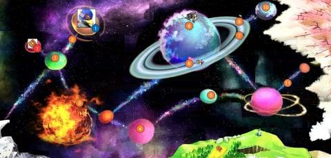 宇宙エリアマップ