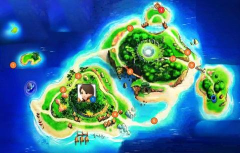 アローラ島マップ