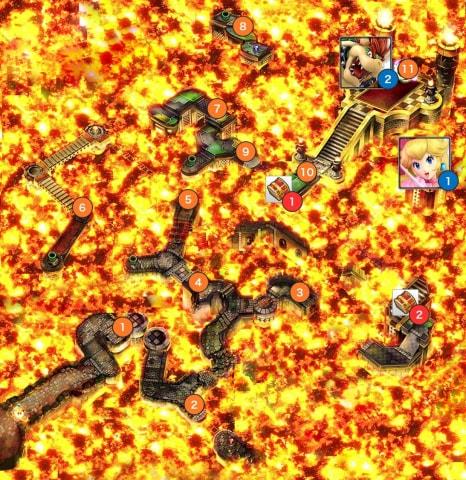 溶岩城マップ