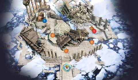 光の神殿1階